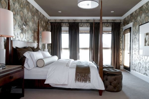 Best Master Bedroom Wallpaper Ideas 9 Interior Design Center With Pictures