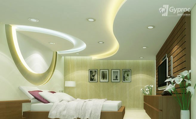 Best False Ceiling Designs For Bedroom Saint Gobain Gyproc India With Pictures