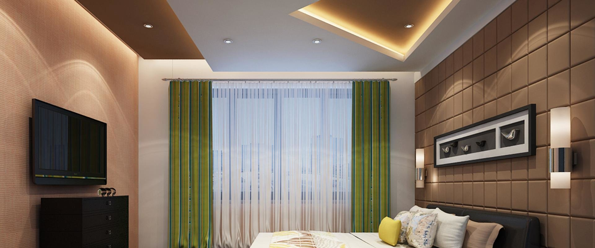 Best Bedroom False Ceiling Gypsum Board Drywall Plaster With Pictures