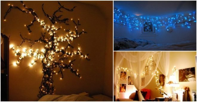 Best 15 Creative Ways To Hang Christmas Lights In Bedroom How With Pictures