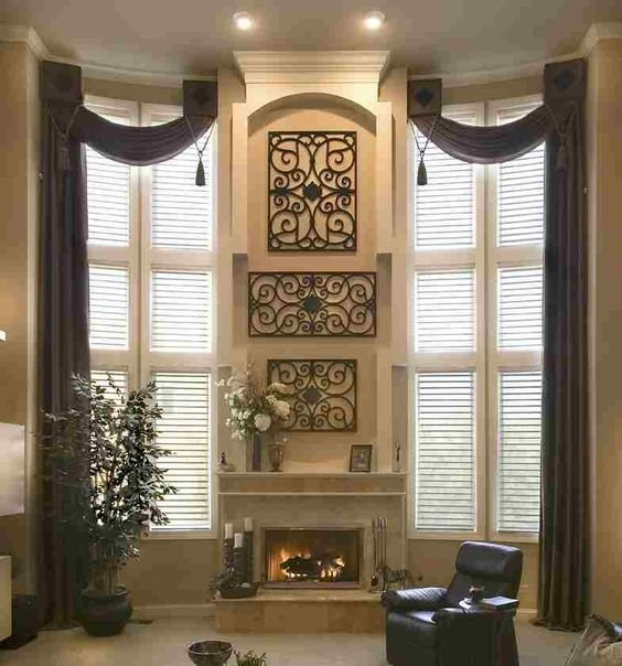 Best Window Treatments Ideas For Large Windows In Living Room With Pictures