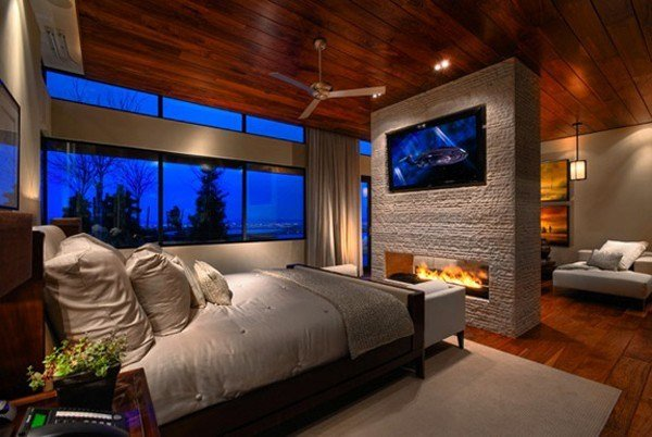 Best Contemporary Designs Of Wall Mounted Tv With Pictures