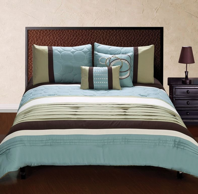 Best Brown And Green Bedding Mint Green And Brown Bathroom With Pictures