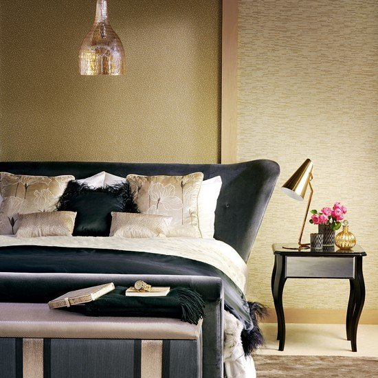 Best Black And Gold Bedroom Ideas Black Gold And Silver With Pictures