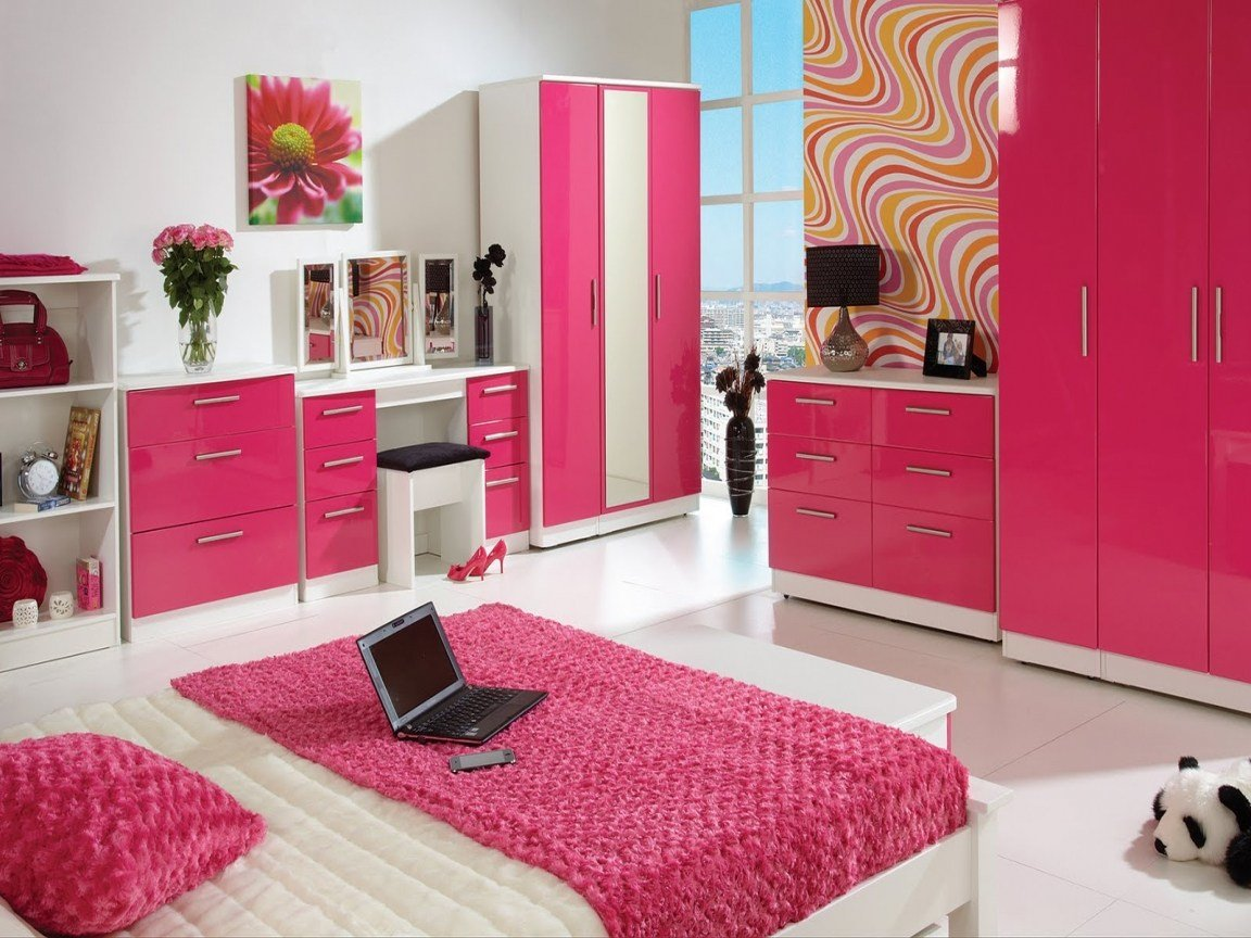 Best Black White And Pink Bedroom Ideas Big Living Room Big Rooms For Teenage Girl Bedroom Ideas With Pictures