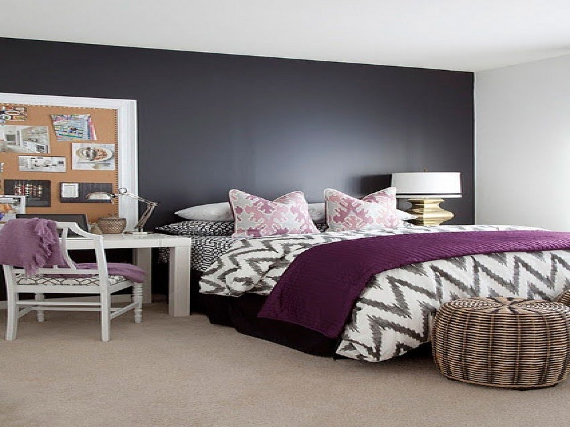 Best Navy And Pink Bedroom Ideas Gray Purple Bedroom Color Schemes Grey Bedroom With Purple Accents With Pictures