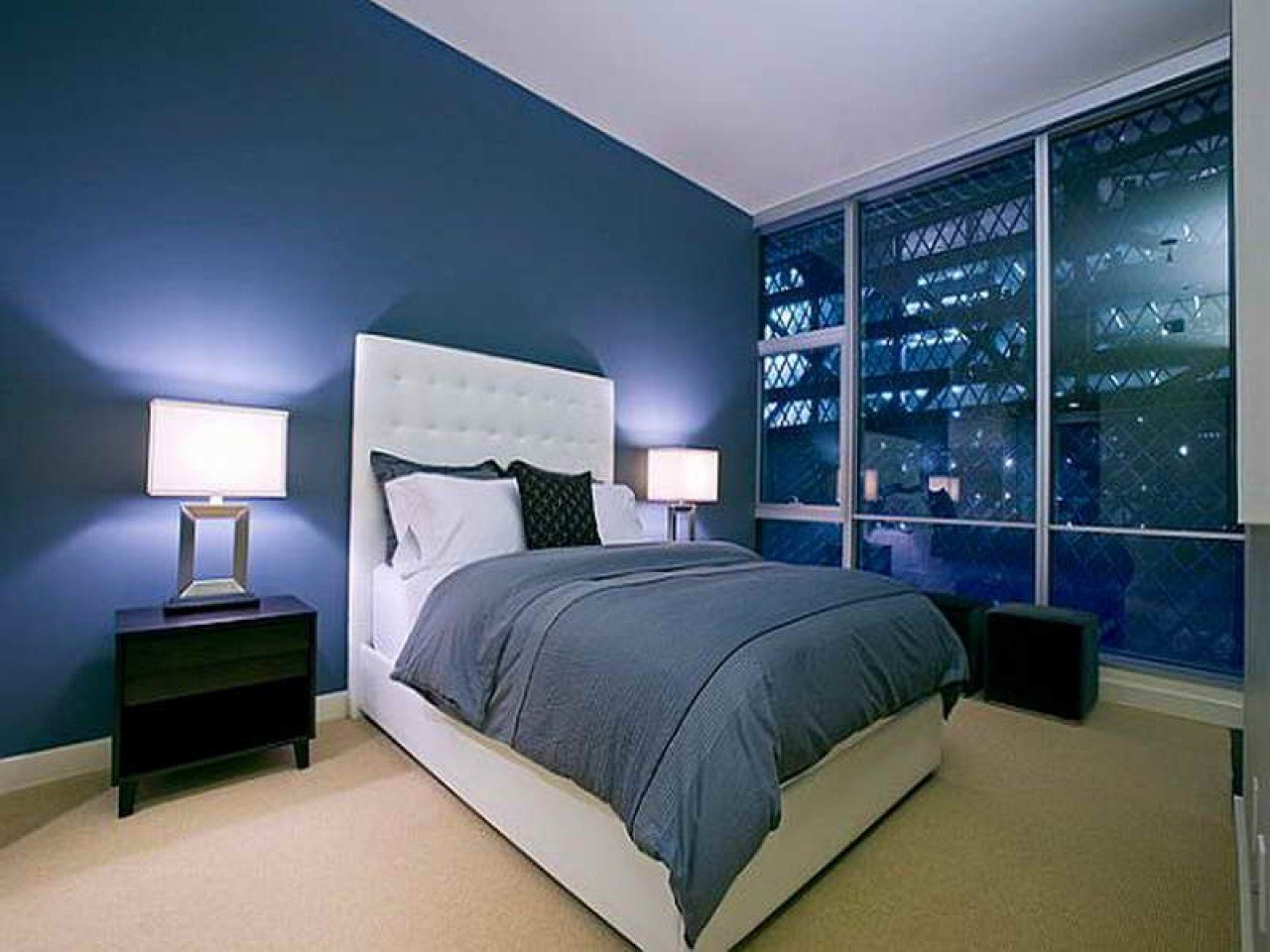 Best Grey Blue Bedroom Dark Blue And Gray Bedroom Ideas Omnre With Pictures