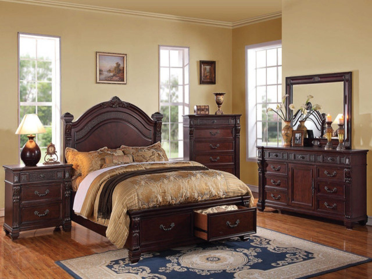 Best Traditional Bedroom Sets Discount Cherry Bedroom Furniture Cherry Wood Bedroom Furniture Sets With Pictures