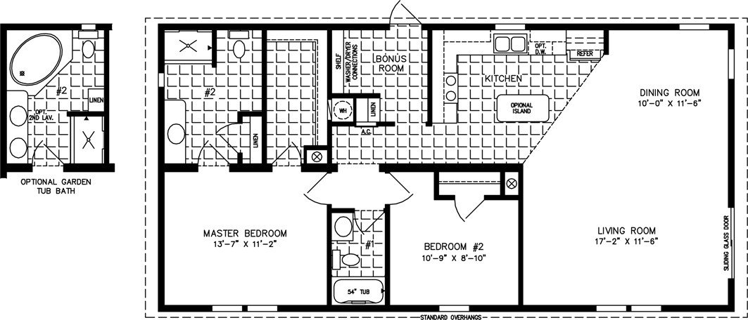 Best 1000 To 1199 Sq Ft Manufactured Home Floor Plans With Pictures
