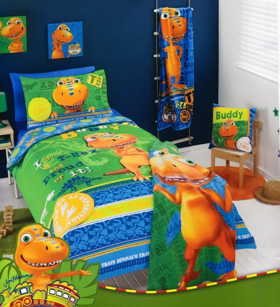 Best Dinosaur Train Quilt Cover Set Kids Bedding Dreams With Pictures