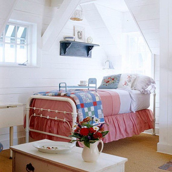 Best Cute Red White Blue Attic Bedroom Pictures Photos And With Pictures