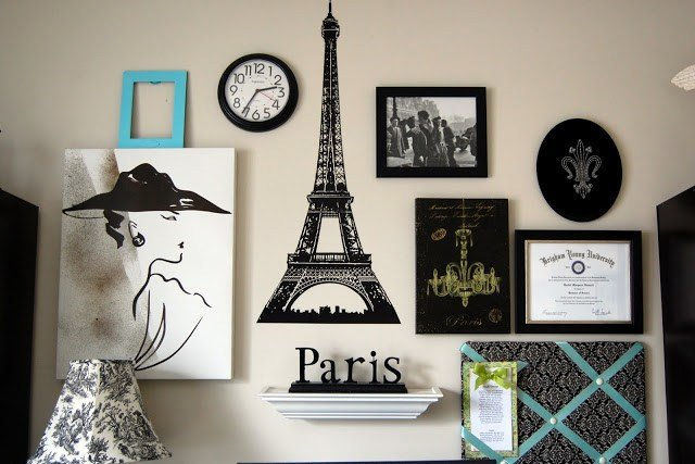 Best Paris Gallery Wall Pictures Photos And Images For Facebook Tumblr Pinterest And Twitter With Pictures