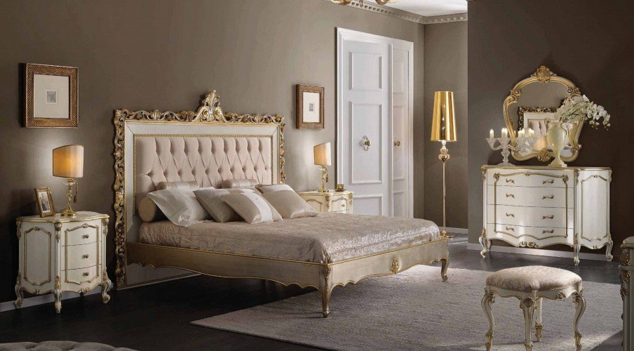 Best Master Bedroom Bedroom Set Natural Wood With Upholstered Headboard Scappini C Luxury With Pictures