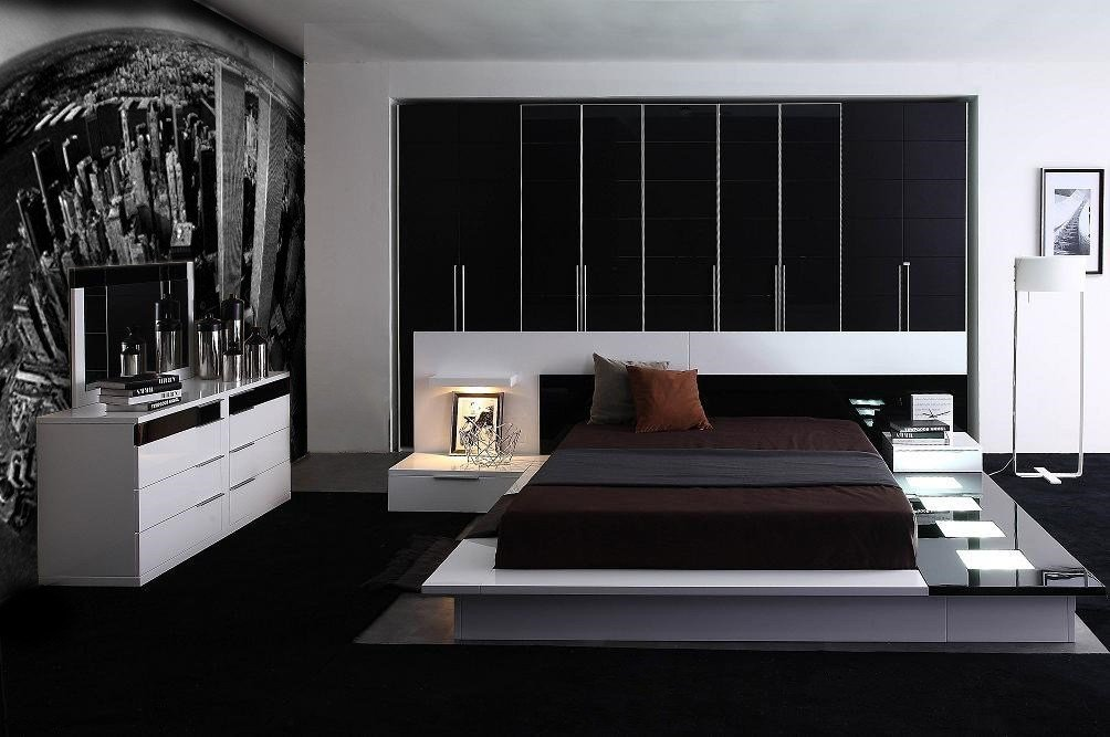 Best Impera Modern Contemporary Lacquer Platform Bed With Pictures