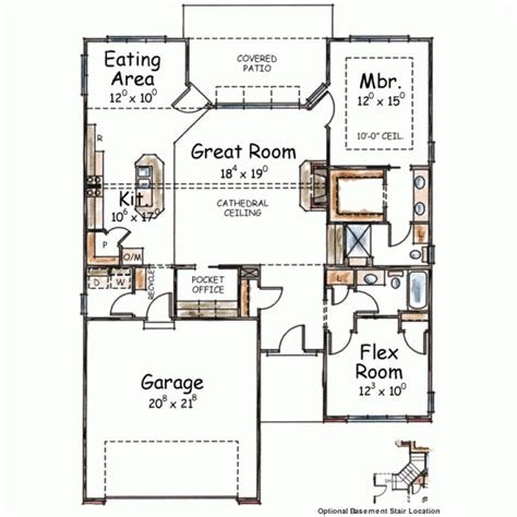 Best Ranch Style House Plans 1490 Square Foot Home 1 Story 2 Bedroom And 2 Bath 2 Garage Stalls With Pictures