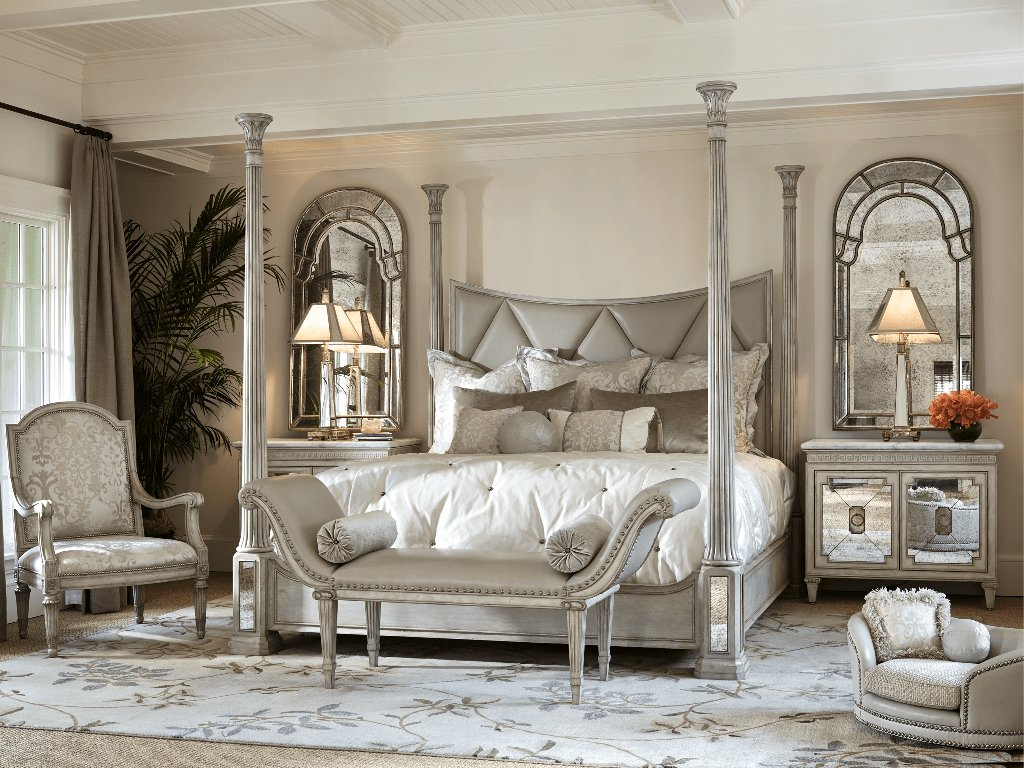 Best Cream Tufted Bedroom Set — Nyctophilia Design The Ideal With Pictures