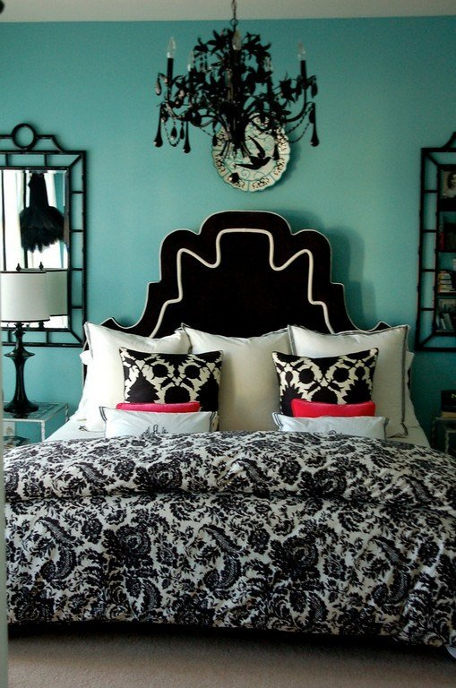 Best Black And Turquoise Bedroom Panda S House With Pictures