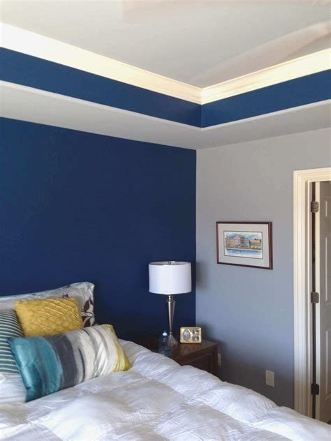 Best Two Tone Bedroom Paint Ideas Savae Org With Pictures
