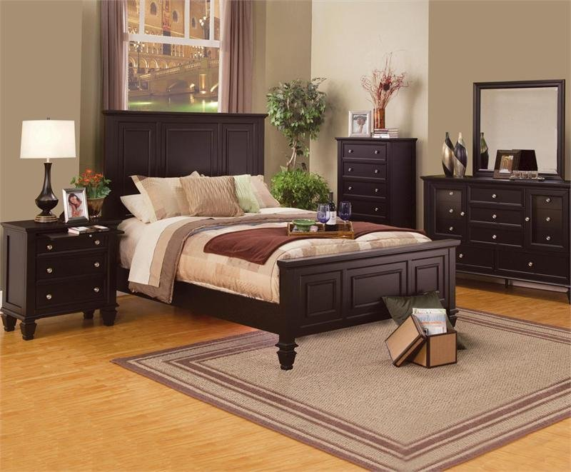 Best Sandy Beach Espresso Bedroom Collection With Pictures