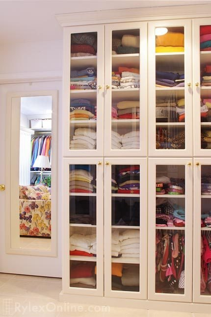 Best Cabinets With Glass Doors Bedroom Closet Middletown Ny With Pictures