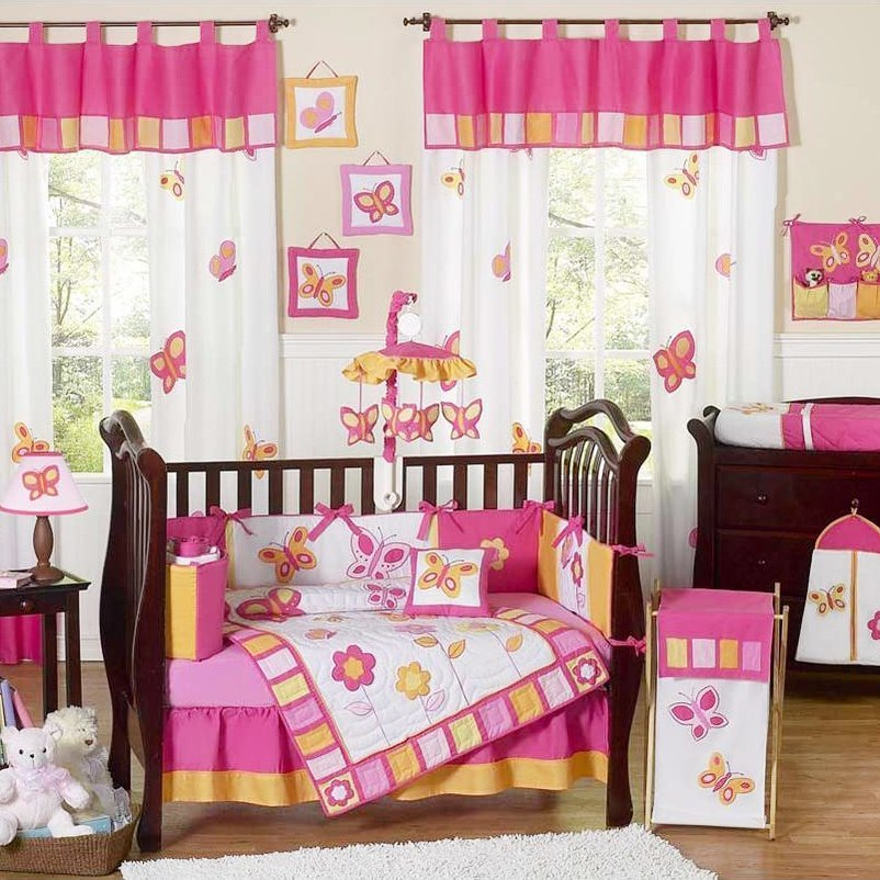 Best Baby Girl Bedding Sets For Cribs Home Furniture Design With Pictures