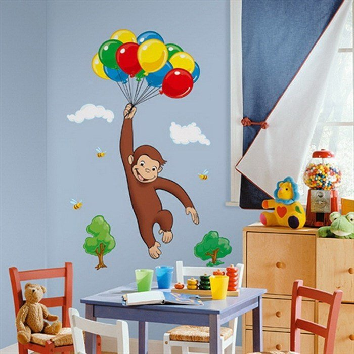 Best 22 Cool Bedroom Wall Stickers For Kids Interior Design Inspirations With Pictures