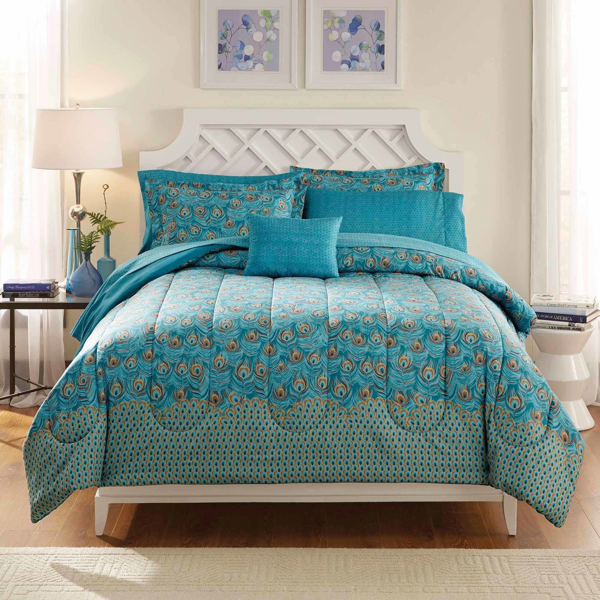 Best Bedroom Outstanding Peacock Bedding For Bedroom With Pictures