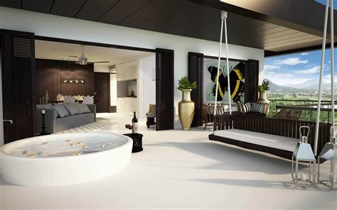Best Luxurious Bedroom With Jacuzzi And A Beautiful View With Pictures