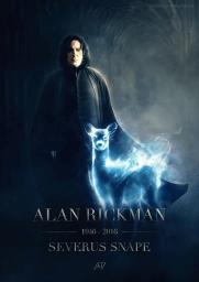 Alan Rickman - Prof Snape