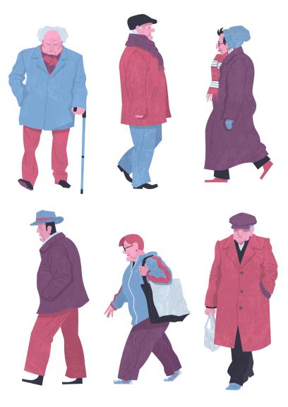 Personajes de la calle