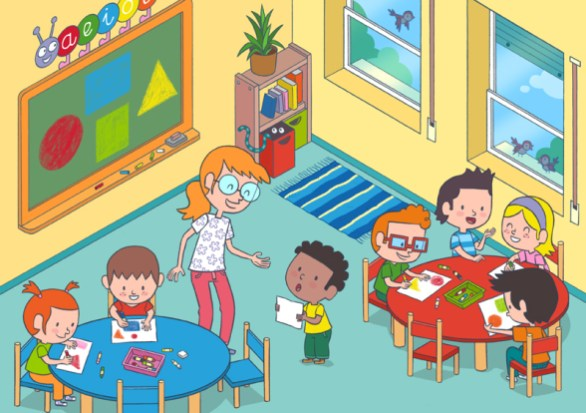 La clase de primaria