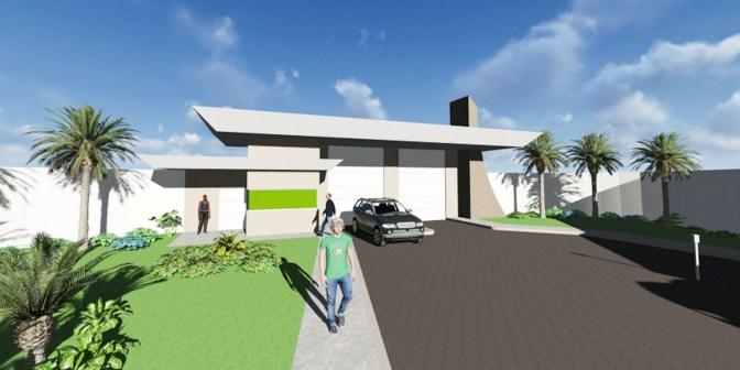 003-Portaria - Falls Ville Residence - Projeto