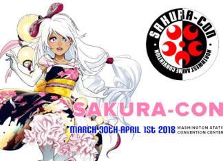 21st Annual Sakura-Con, March 30th-April 1st 2018