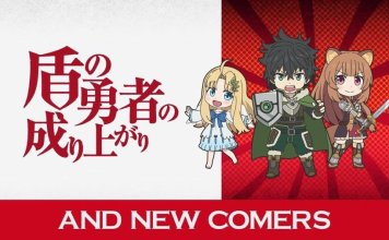 shield hero isekai quartet