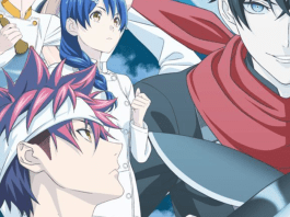 food wars cast fifth plate
