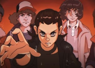 Stranger Things was an anime