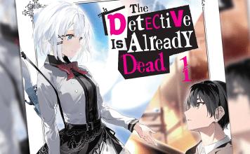 The Detective is Already Dead light novel thumbnail