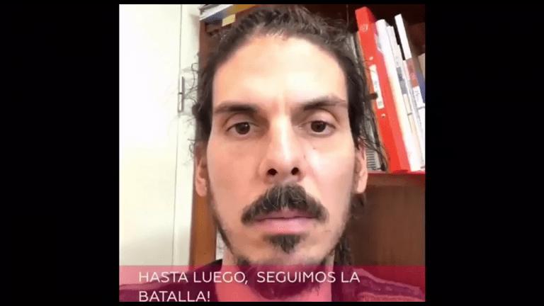 """""""Info para que no te engañen ni te estafen. El SMI es de 1050€ en 12 pagas y es inembargable"""". Alberto Rodríguez"""