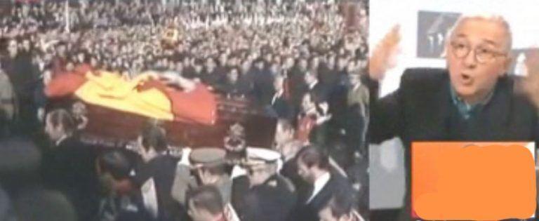 """Xavier Sardà a los Franco: """"deberían callarse la boca""""."""