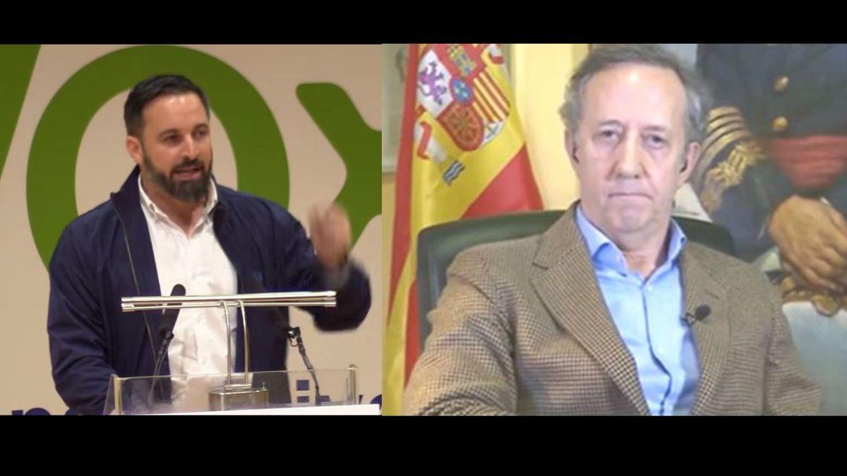 El portavoz de la Fundación Francisco Franco uno de los financiadores de Vox