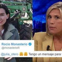 VÍDEO | Zasca de campeonato de Julia Otero a Rocio Monasterio en modo postureo