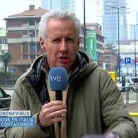 Lección de periodismo de Lorenzo Milá desde Italia y sin mascarilla sobre la información del coronavirus