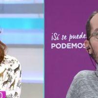 Vídeo | Rifirrafe: Echenique ajusta cuentas con Ana Rosa por permitir la difusión de fake news contra Iglesias y Montero en su programa