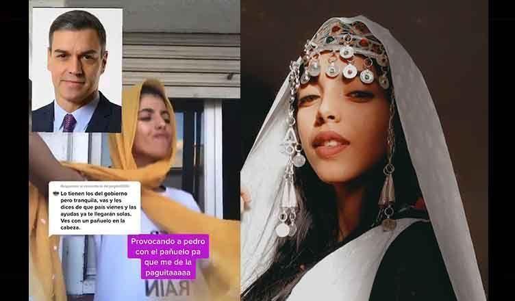 Hanan Midan la joven marroquí se vuelve viral sus respuestas a comentarios racistas en TikTok
