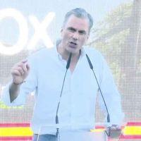 Ortega Smith: «El euskera utiliza palabras inventadas»