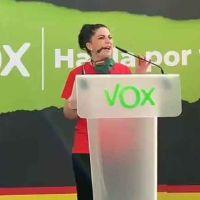 Vídeo | «Cachorros de ETA, no os tenemos miedo». Macarena Olona agita el fantasma del terrorismo en Oñate