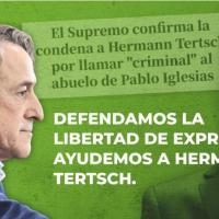 Los votantes de Vox pagarán 12.000 euros a Pablo Iglesias por la condena de Hermann Tertsch