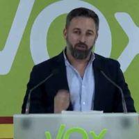 Vídeo   «Elecciones sin libertad». Abascal culpa a Sánchez, los medios y los matones de sus resultados electorales en Galicia y País Vasco