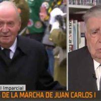 Vídeo | Ansón culpa al difunto Hugo Chávez y a Podemos de la salida de Juan Carlos I de España