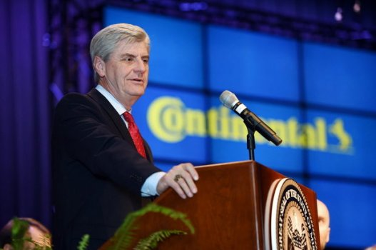 """Mississippi Gov. Phil Bryant signed a proclamation declaring the month of April """"Confederate Heritage Month"""" in his state. (Joe Ellis/The Clarion-Ledger via AP). Found in: """"Mississippi Governor Declares April 'Confederate Heritage Month,'"""" NOLA.com, February 25, 2016, accessed July 10, 2016."""